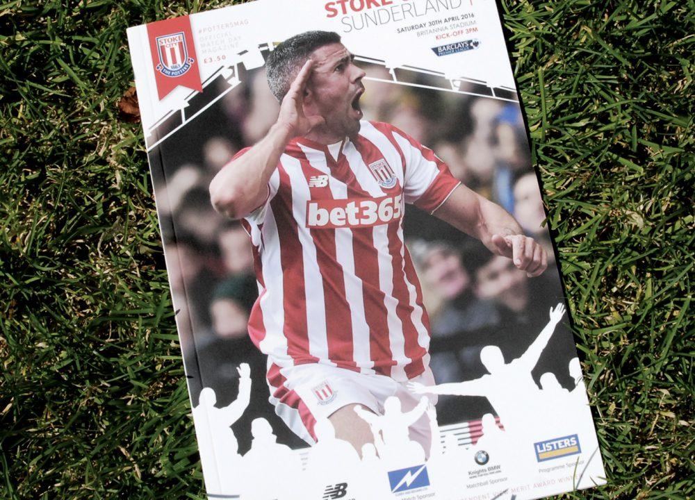 Stoke City Match Day Programme